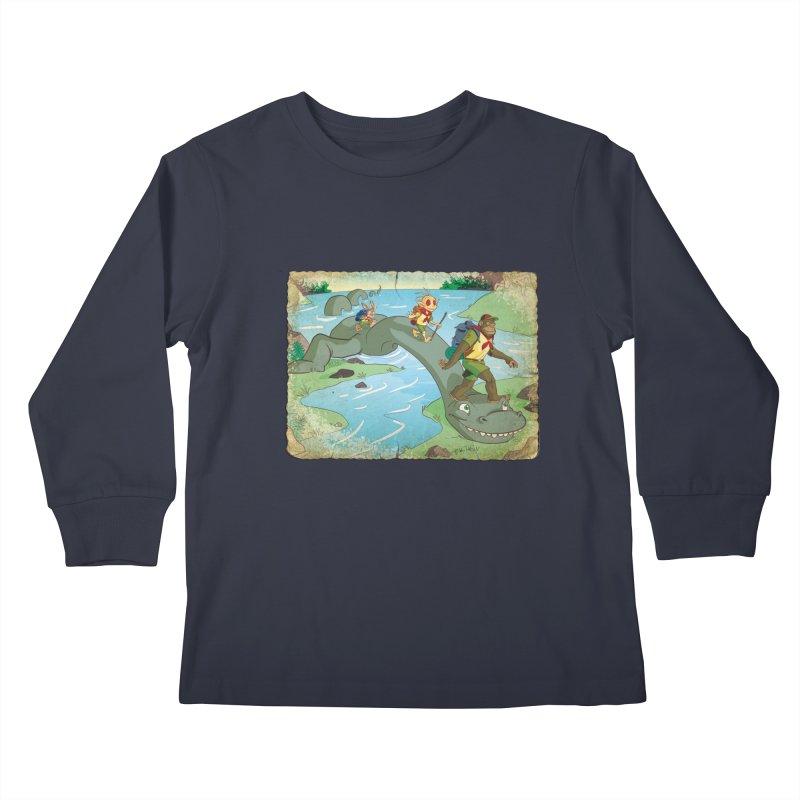 Campfire Mythology 1 Kids Longsleeve T-Shirt by Twin Comics's Artist Shop