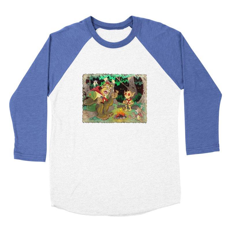 Campfire Mythology 2 Men's Baseball Triblend Longsleeve T-Shirt by Twin Comics's Artist Shop