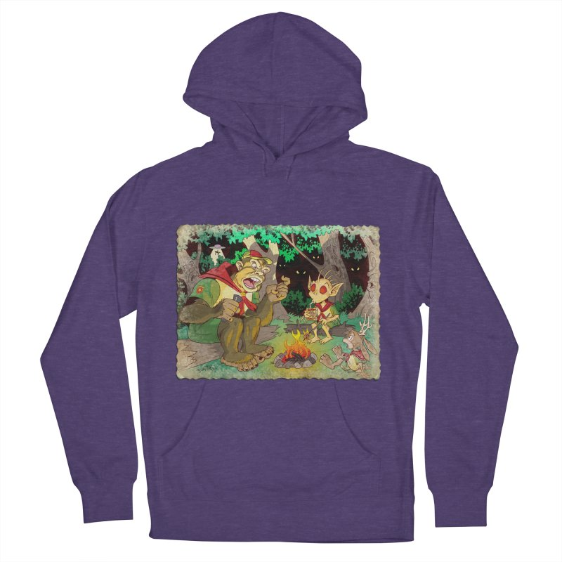 Campfire Mythology 2 Women's French Terry Pullover Hoody by Twin Comics's Artist Shop