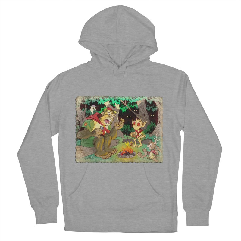 Campfire Mythology 2 Men's French Terry Pullover Hoody by Twin Comics's Artist Shop