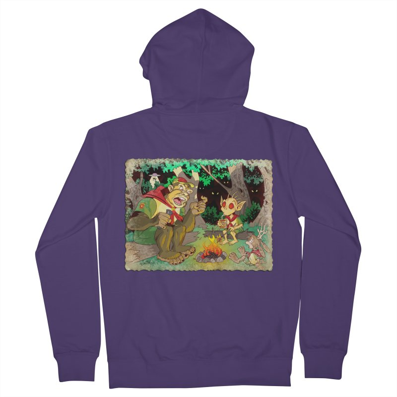 Campfire Mythology 2 Women's French Terry Zip-Up Hoody by Twin Comics's Artist Shop