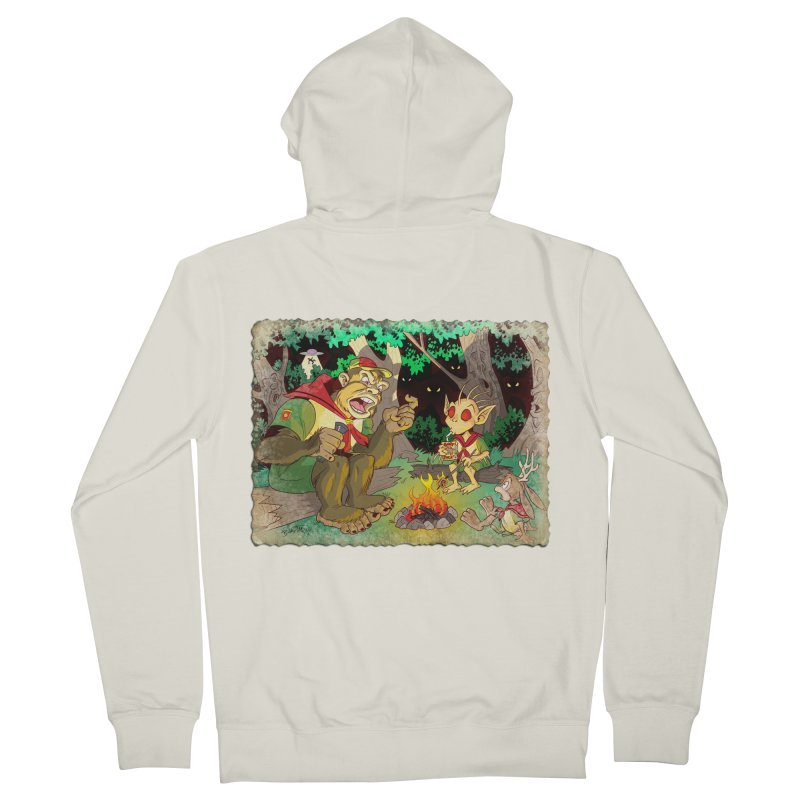 Campfire Mythology 2 Men's French Terry Zip-Up Hoody by Twin Comics's Artist Shop