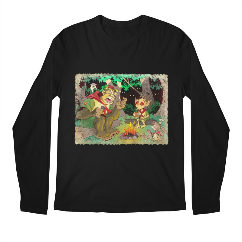 Campfire Mythology 2 Men's Regular Longsleeve T-Shirt by Twin Comics's Artist Shop