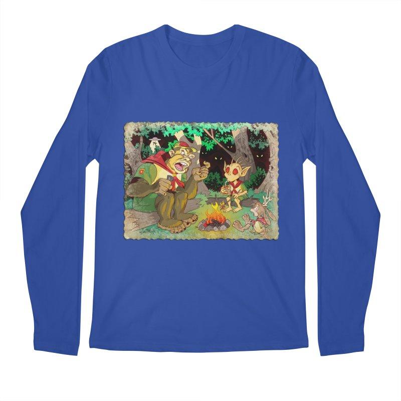 Campfire Mythology 2 Men's Regular Longsleeve T-Shirt by Twin Comics's Artist Shop