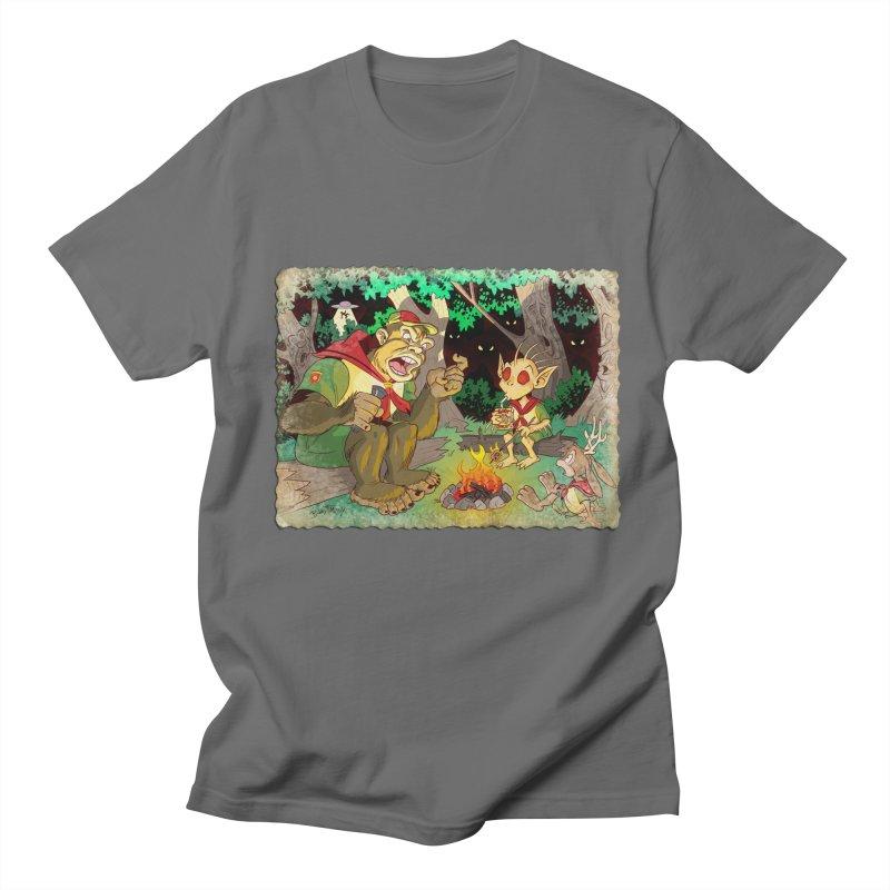 Campfire Mythology 2 Men's Regular T-Shirt by Twin Comics's Artist Shop