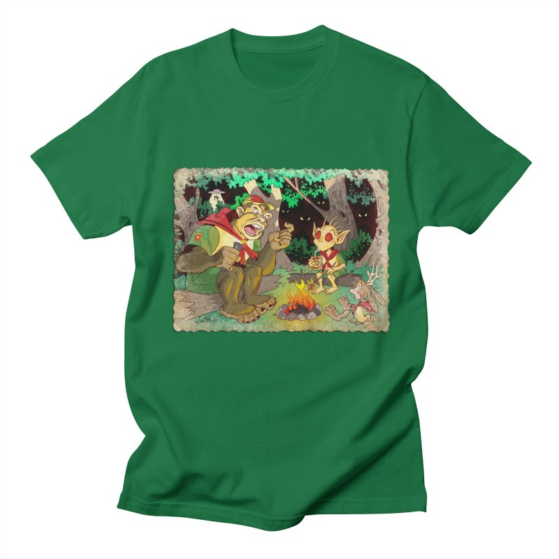 Campfire Mythology 2 Men's Regular T-Shirt by Twin Comics's Artist Shop
