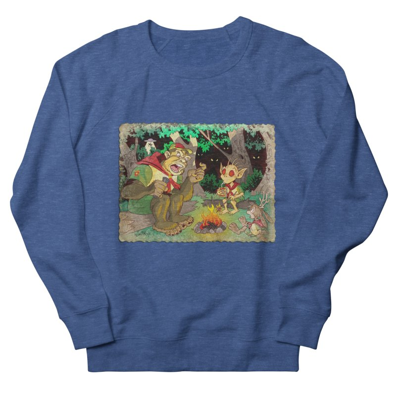 Campfire Mythology 2 Women's French Terry Sweatshirt by Twin Comics's Artist Shop