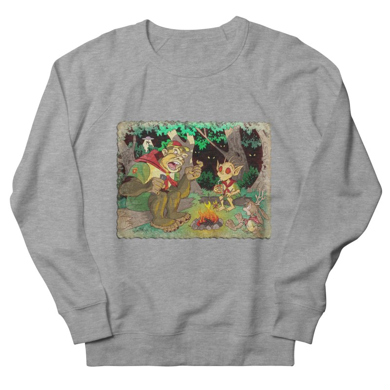 Campfire Mythology 2 Women's French Terry Sweatshirt by Twin Comics's Artist Shop