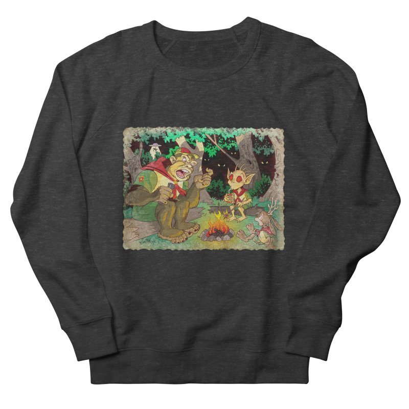 Campfire Mythology 2 Men's French Terry Sweatshirt by Twin Comics's Artist Shop
