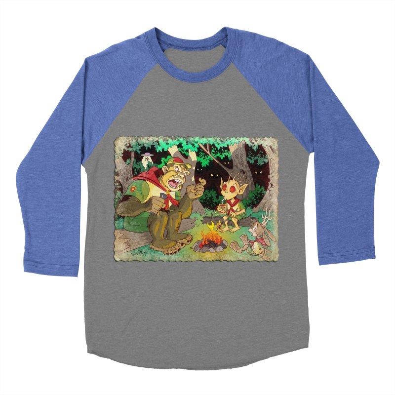 Campfire Mythology 2 Women's Baseball Triblend Longsleeve T-Shirt by Twin Comics's Artist Shop