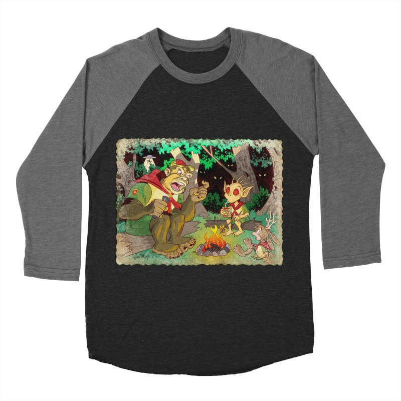 Campfire Mythology 2 Women's Baseball Triblend Longsleeve T-Shirt by Twin Comics's Artist Shop