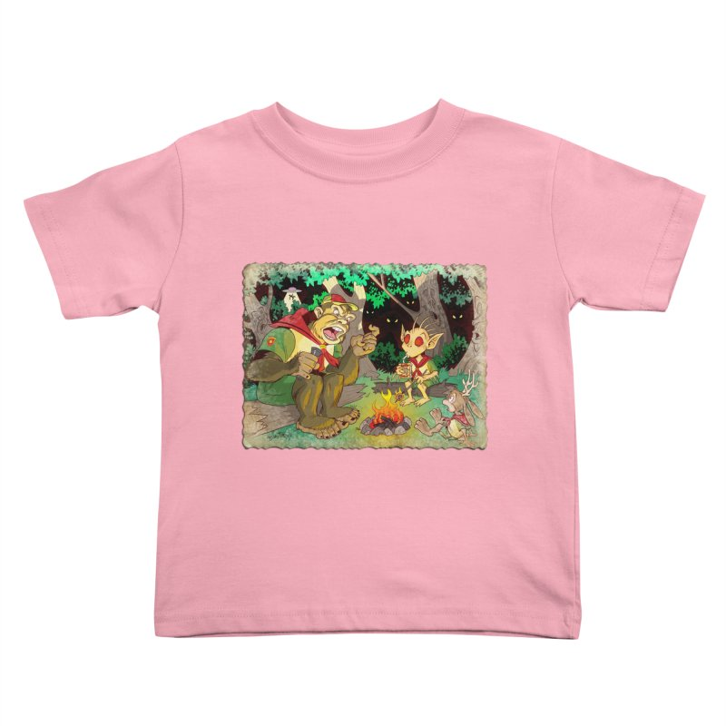 Campfire Mythology 2 Kids Toddler T-Shirt by Twin Comics's Artist Shop