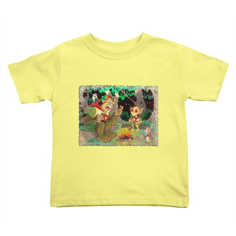 Campfire Mythology 2 Kids Toddler T-Shirt by Twin Comics's Artist Shop