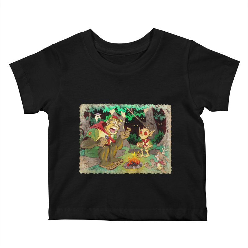 Campfire Mythology 2 Kids Baby T-Shirt by Twin Comics's Artist Shop