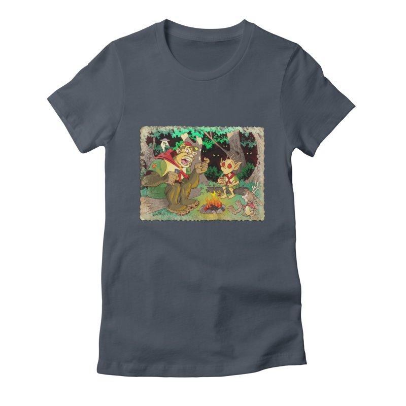 Campfire Mythology 2 Women's T-Shirt by Twin Comics's Artist Shop