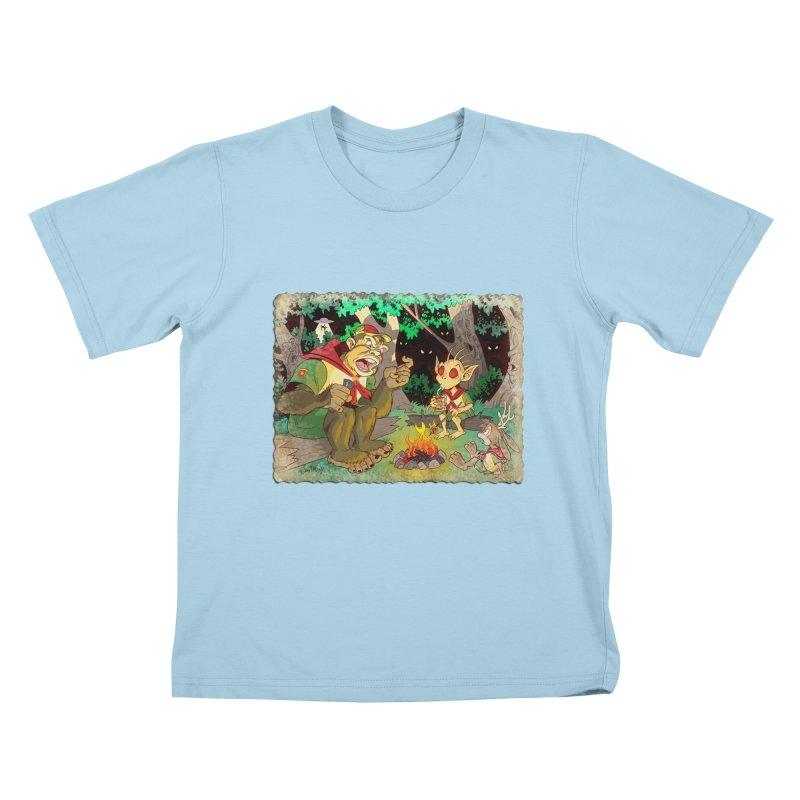 Campfire Mythology 2 Kids T-Shirt by Twin Comics's Artist Shop