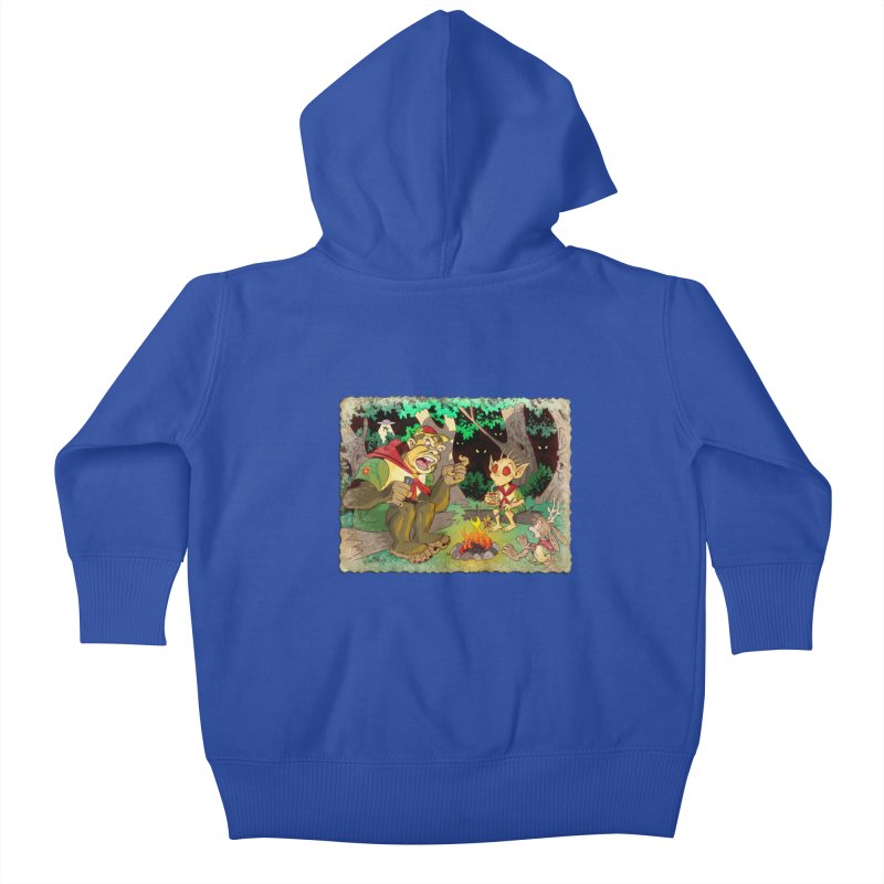 Campfire Mythology 2 Kids Baby Zip-Up Hoody by Twin Comics's Artist Shop