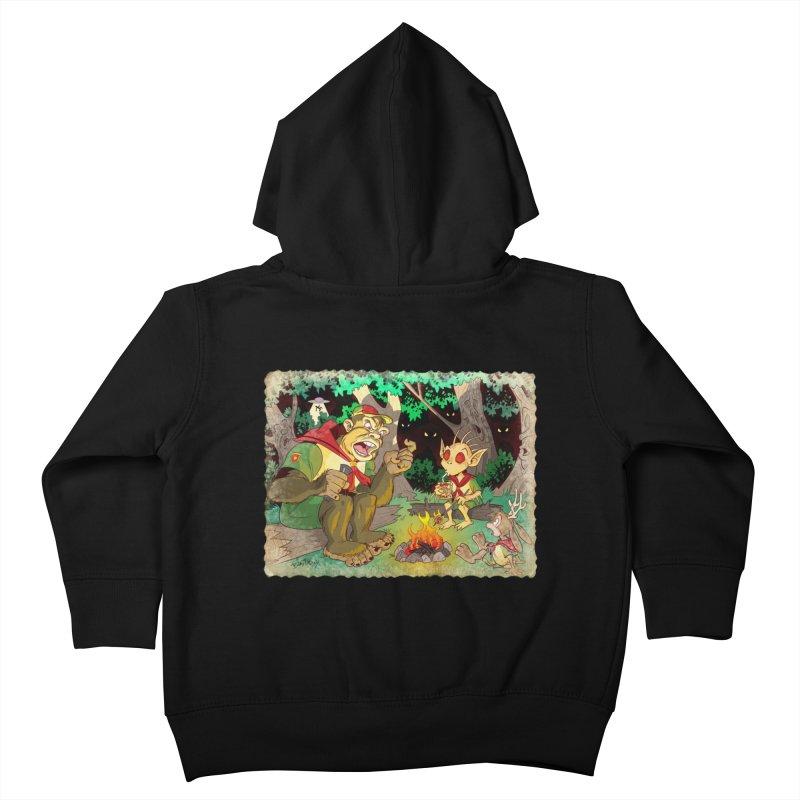 Campfire Mythology 2 Kids Toddler Zip-Up Hoody by Twin Comics's Artist Shop