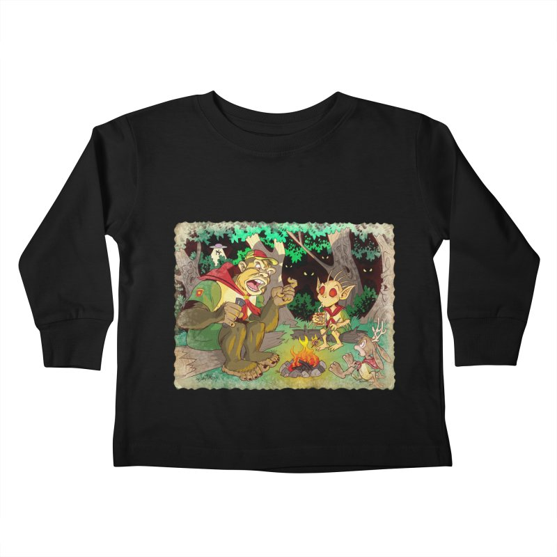 Campfire Mythology 2 Kids Toddler Longsleeve T-Shirt by Twin Comics's Artist Shop