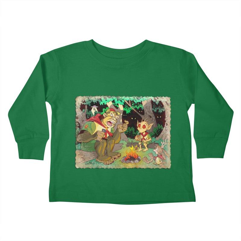 Campfire Mythology 2 Kids Toddler Longsleeve T-Shirt by Twin Comics's Artist Shop