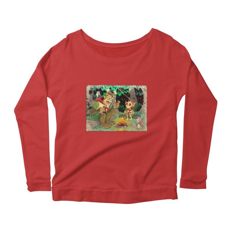 Campfire Mythology 2 Women's Scoop Neck Longsleeve T-Shirt by Twin Comics's Artist Shop