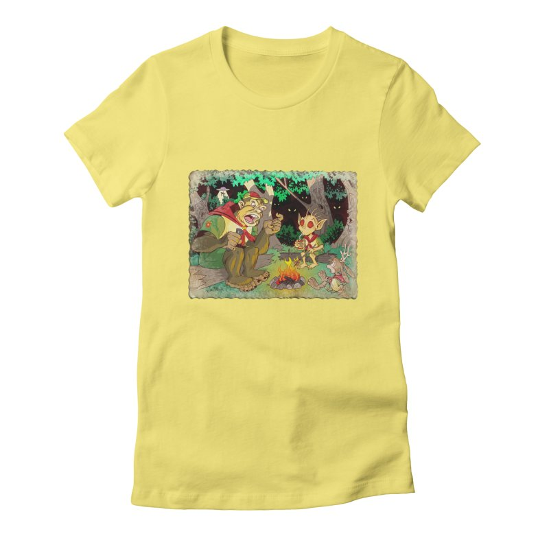 Campfire Mythology 2 Women's Fitted T-Shirt by Twin Comics's Artist Shop