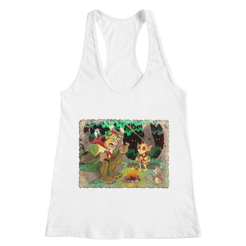 Campfire Mythology 2 Women's Racerback Tank by Twin Comics's Artist Shop