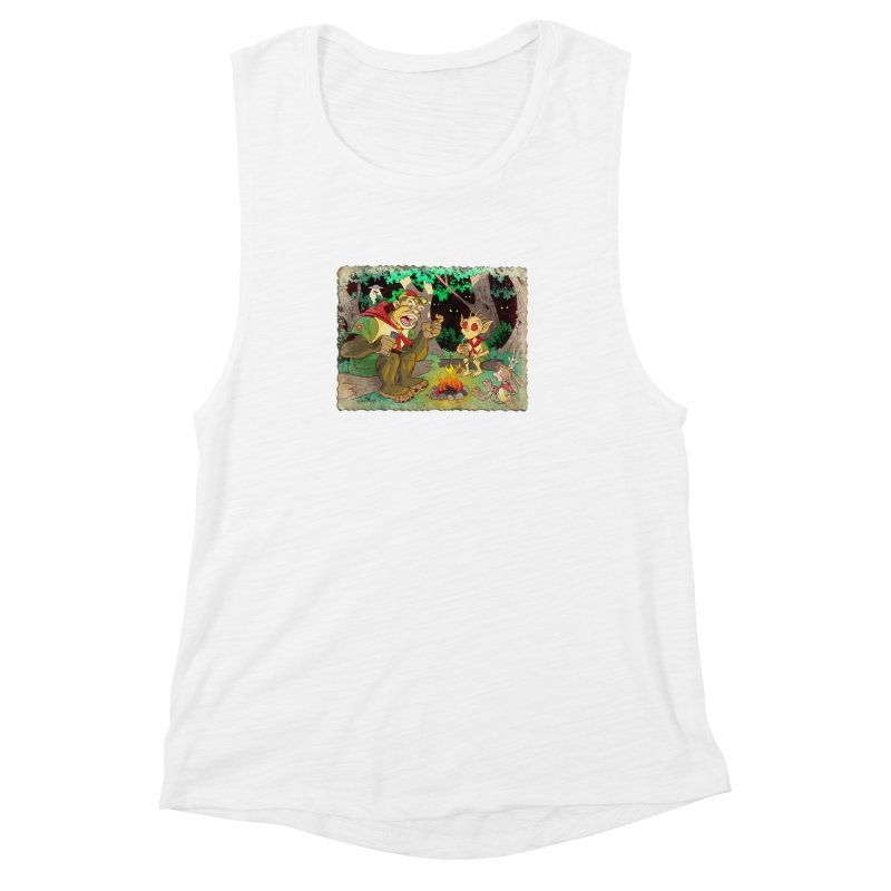 Campfire Mythology 2 Women's Muscle Tank by Twin Comics's Artist Shop