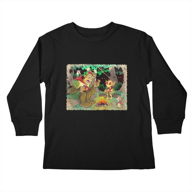 Campfire Mythology 2 Kids Longsleeve T-Shirt by Twin Comics's Artist Shop