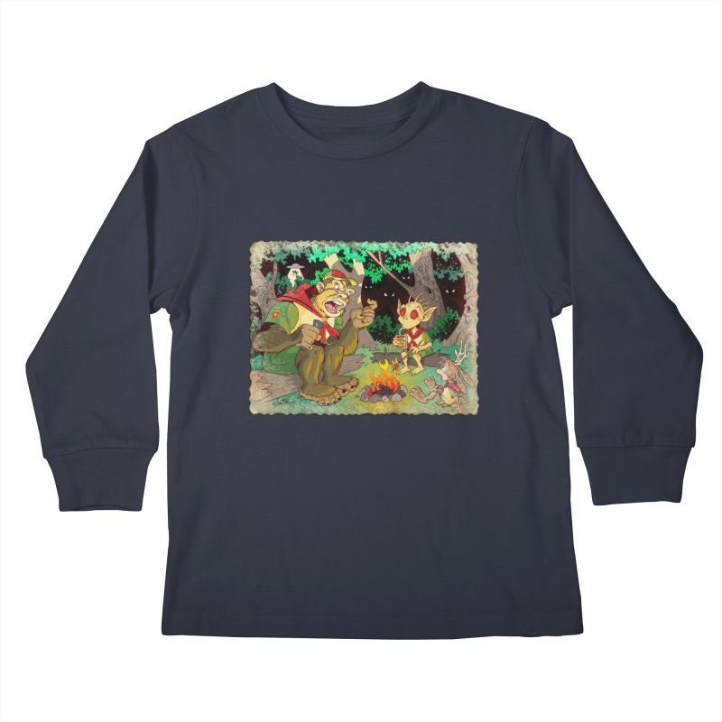 Campfire Mythology 2 Kids Longsleeve T-Shirt by Twin Comics's Artist Shop