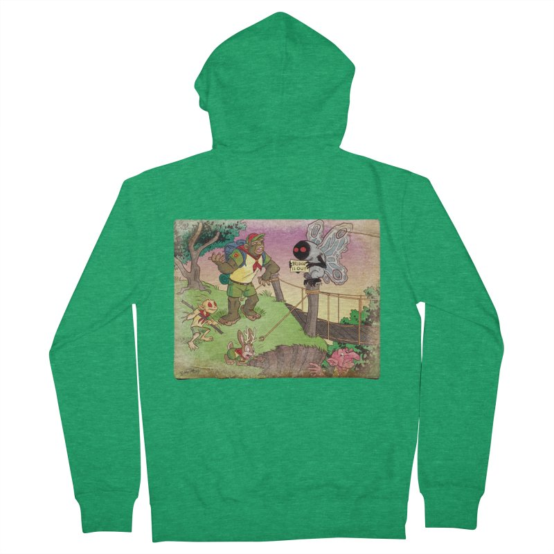 Campfire Mythology 3 Men's Zip-Up Hoody by Twin Comics's Artist Shop