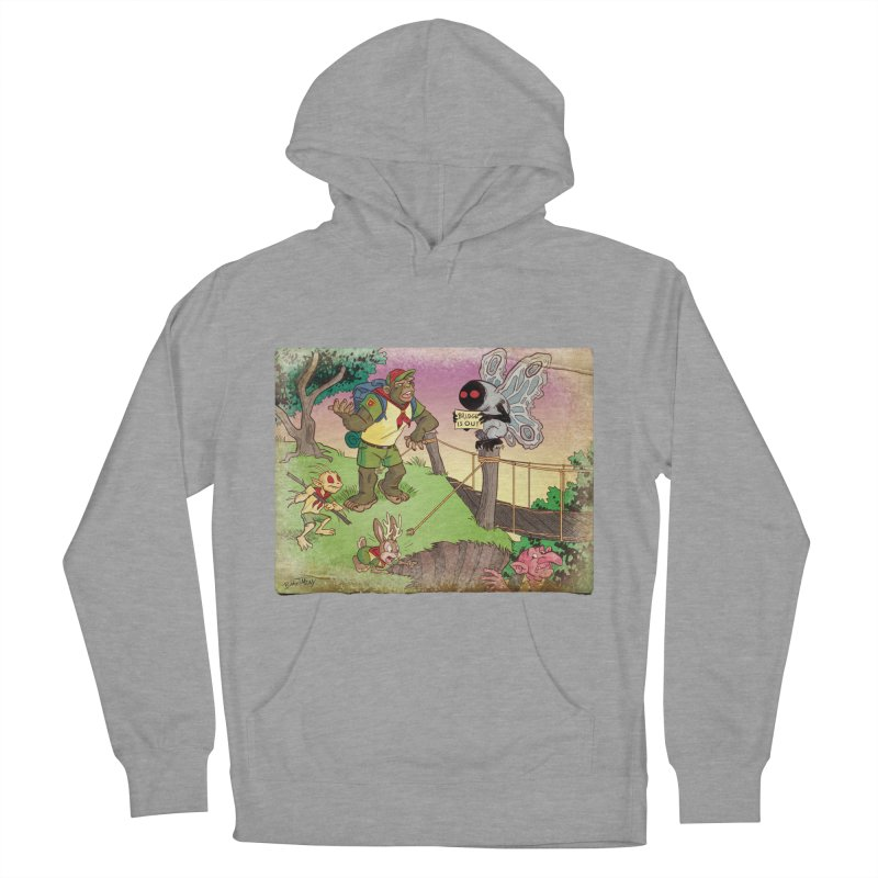 Campfire Mythology 3 Men's French Terry Pullover Hoody by Twin Comics's Artist Shop