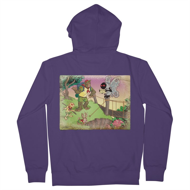 Campfire Mythology 3 Women's French Terry Zip-Up Hoody by Twin Comics's Artist Shop