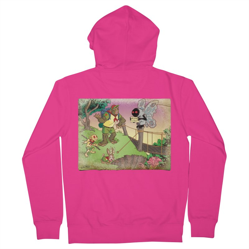 Campfire Mythology 3 Men's French Terry Zip-Up Hoody by Twin Comics's Artist Shop