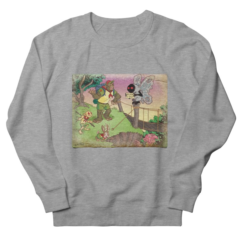 Campfire Mythology 3 Women's French Terry Sweatshirt by Twin Comics's Artist Shop