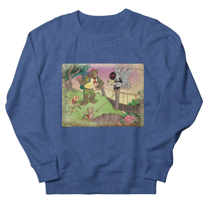 Campfire Mythology 3 Men's French Terry Sweatshirt by Twin Comics's Artist Shop