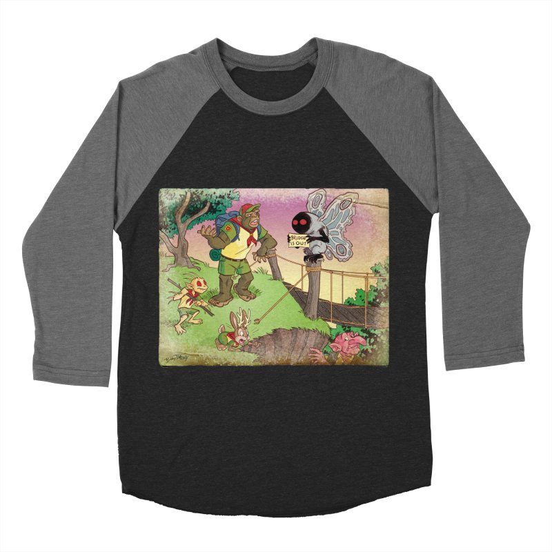 Campfire Mythology 3 Women's Baseball Triblend Longsleeve T-Shirt by Twin Comics's Artist Shop