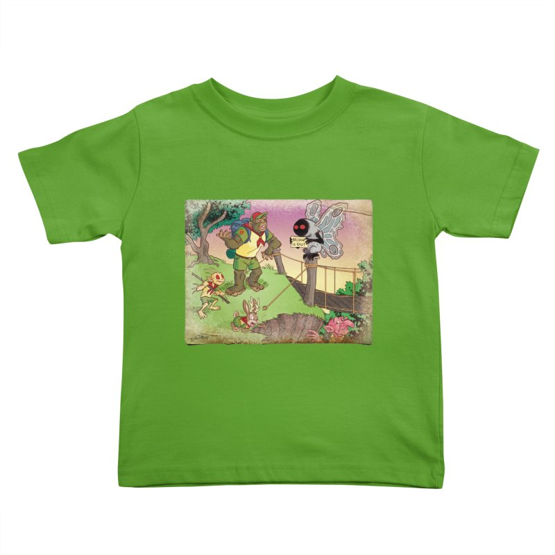 Campfire Mythology 3 Kids Toddler T-Shirt by Twin Comics's Artist Shop