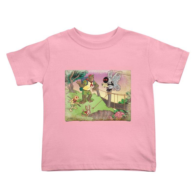 Campfire Mythology 3 Kids Toddler T-Shirt by Twin Comics's Artist Shop