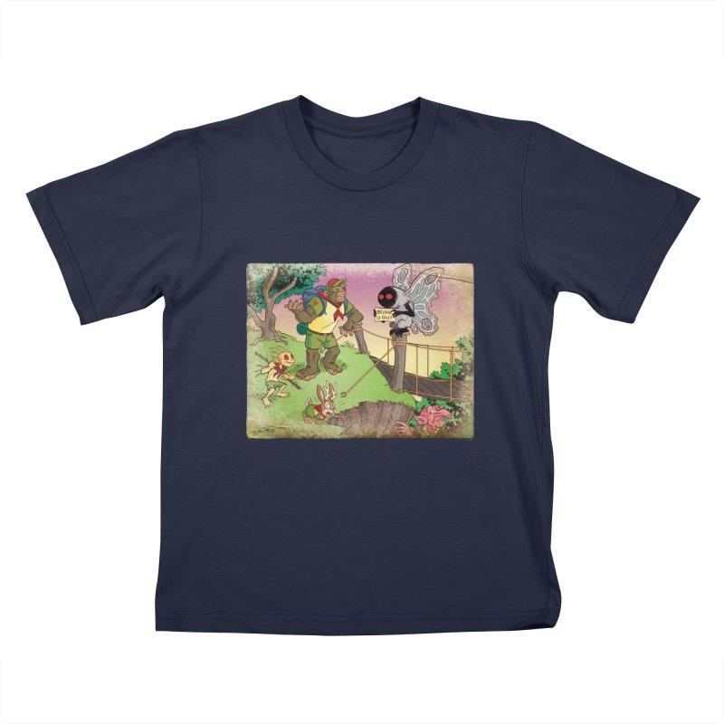 Campfire Mythology 3 Kids T-Shirt by Twin Comics's Artist Shop