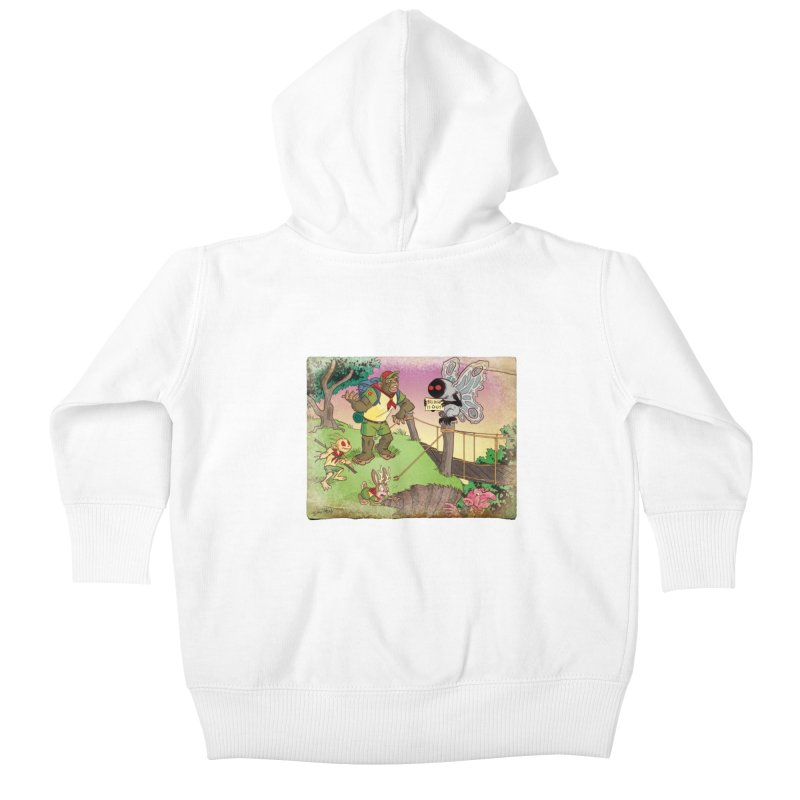 Campfire Mythology 3 Kids Baby Zip-Up Hoody by Twin Comics's Artist Shop