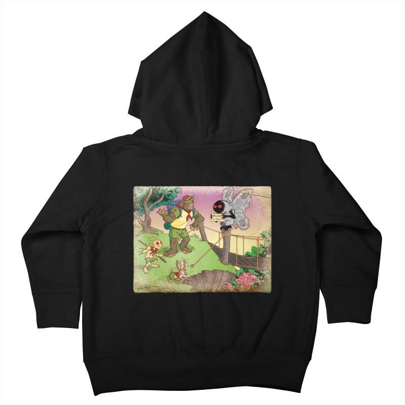 Campfire Mythology 3 Kids Toddler Zip-Up Hoody by Twin Comics's Artist Shop