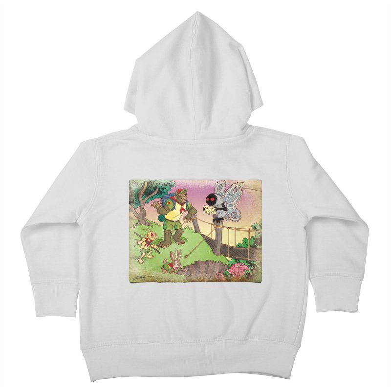 Campfire Mythology 3 Kids Toddler Zip-Up Hoody by Twin Comics's Artist Shop