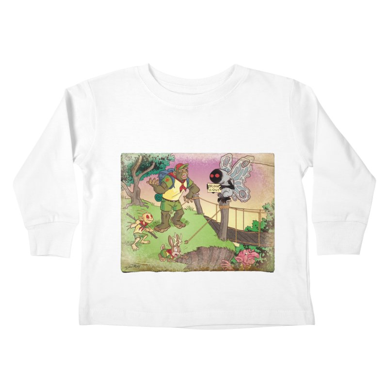 Campfire Mythology 3 Kids Toddler Longsleeve T-Shirt by Twin Comics's Artist Shop