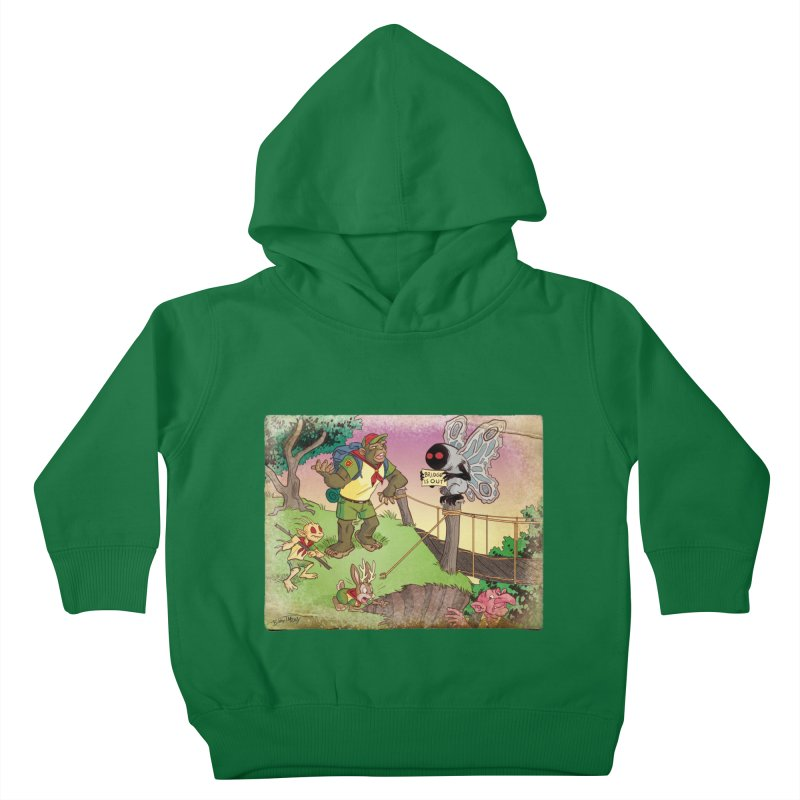 Campfire Mythology 3 Kids Toddler Pullover Hoody by Twin Comics's Artist Shop