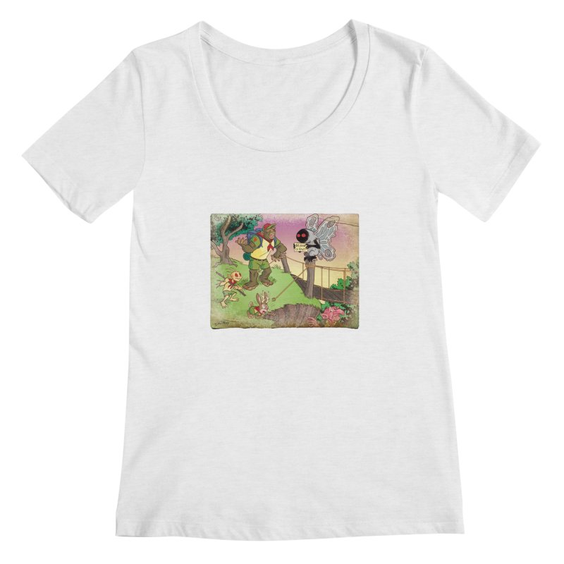 Campfire Mythology 3 Women's Scoop Neck by Twin Comics's Artist Shop