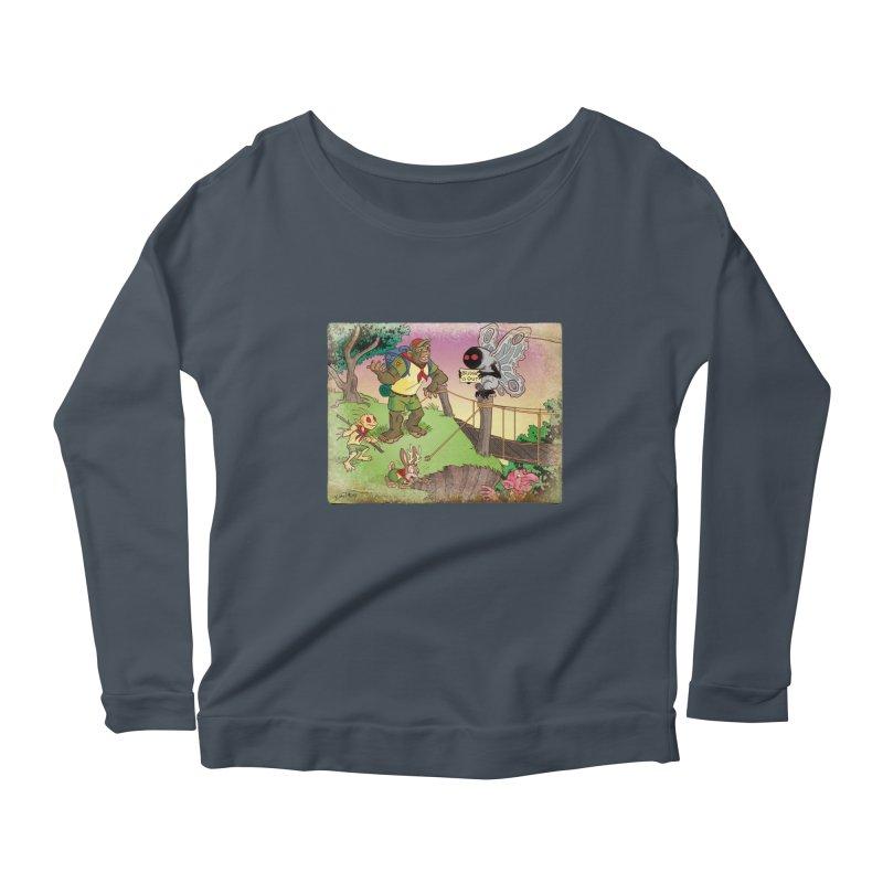 Campfire Mythology 3 Women's Scoop Neck Longsleeve T-Shirt by Twin Comics's Artist Shop