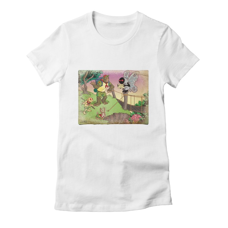 Campfire Mythology 3 Women's Fitted T-Shirt by Twin Comics's Artist Shop