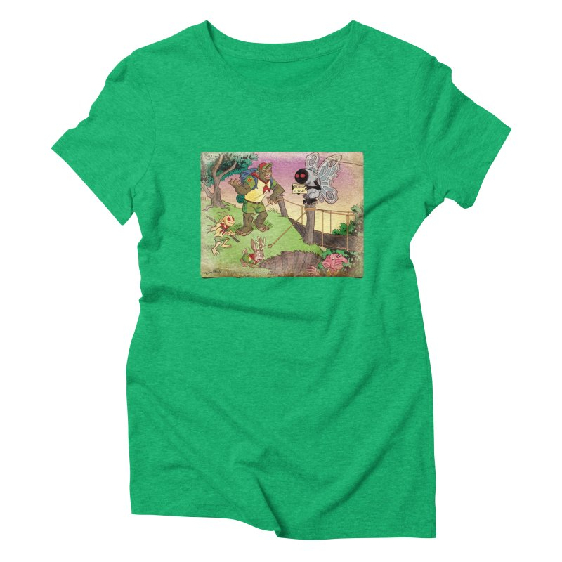 Campfire Mythology 3 Women's Triblend T-Shirt by Twin Comics's Artist Shop