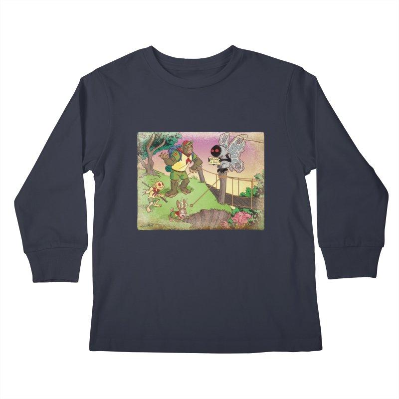 Campfire Mythology 3 Kids Longsleeve T-Shirt by Twin Comics's Artist Shop